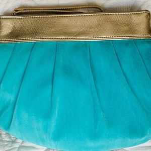 Lilly Pulitzer Bags - Lilly Pulitzer Under The Stars sea blue clutch